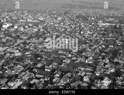 050106-N-4166B-024 Aceh, Sumatra, Indonésie (janv. 6, 2005) - Une vue aérienne de ce tsunami à Aceh, Sumatra, Indonésie. Photo Stock
