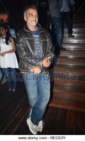 Bollywood acteur et chanteur Lucky Ali pendant la musique Lancement du film à venir David à Mumbai, Inde, le 14 janvier 2013. (Dr Naik/ IMAGES SOLARIS) Photo Stock