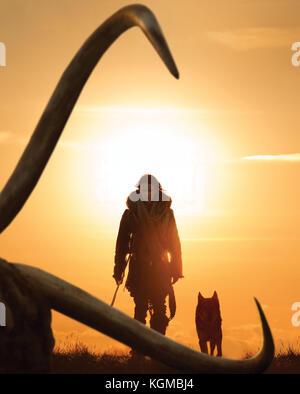 Date de sortie: 2 mars 2018 Titre: alpha studio: studio 8 Réalisateur: albert hughes Photo Stock