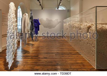Par installation pour la Mongolie OYUNA. Design Biennale 2018 de Londres, Londres, Royaume-Uni. Architecte: Divers , 2019. Photo Stock