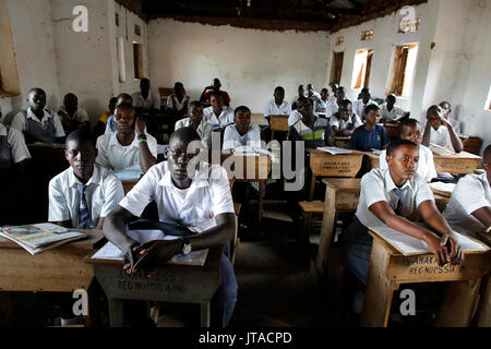 Anaka senior secondary school, Anaka, Ouganda, Afrique du Sud Photo Stock