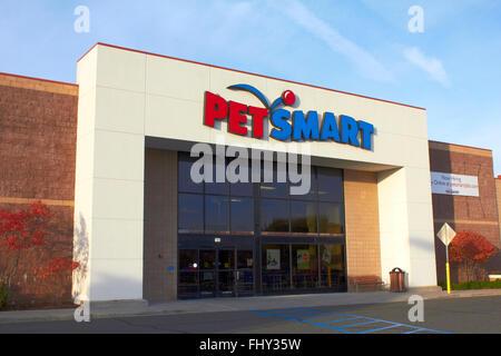 Smart Pet Store Front Photo Stock