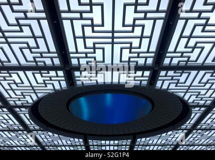 Toit de Qiandaohu Ville gare. Photo Stock