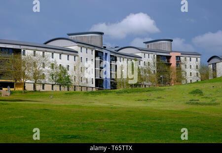 Logements étudiants bâtiments du campus, UEA, Norwich, Norfolk, Angleterre Photo Stock