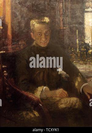 Portrait d'Alexander Kerensky (1881-1970), 1917-1918. On trouve dans la collection de musée de l'état de la révolution, à Moscou. Photo Stock