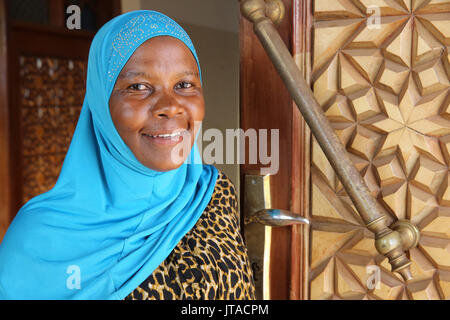 Mosquée (mosquée Qadafi National), Kampala, Ouganda, Afrique du Sud Photo Stock