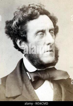 ANTHONY Ashley Cooper, 7e comte de Shaftesbury (1801-1885) politicien britannique, réformateur social et philanthrope Photo Stock