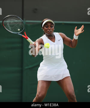 Wimbledon 2019 Strphens Sloane Photo Stock