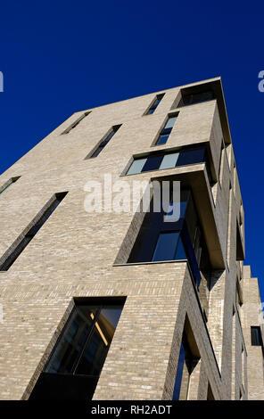 Logement étudiant de l'UEA, pablo fanque house, Norwich, Norfolk, Angleterre Photo Stock