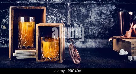 Vieux whisky Photo Stock