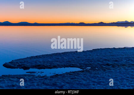Uyuni salt flat, Salar de Uyuni, près de Tahua, département de Potosi, Bolivie Photo Stock