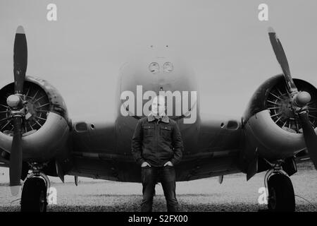 Fly boy Photo Stock