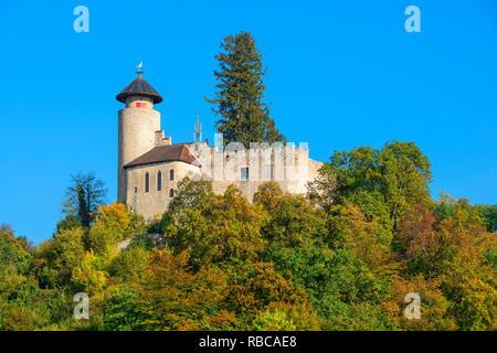Le château de Birseck, Liestal, Bâle-Campagne, Suisse Photo Stock