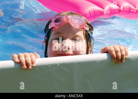 Bord de la piscine Photo Stock