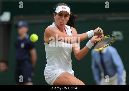Johanna Konta Wimbledon 2019 Photo Stock