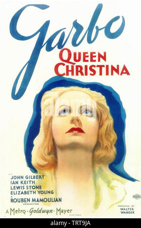 La reine Christine 1933 MGM film avec Greta Garbo Photo Stock