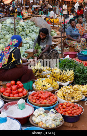 Marché de Masindi, Ouganda, Afrique du Sud Photo Stock