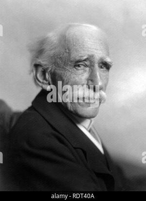 JOHN AMBROSE Fleming (1849-1945) ingénieur en électricité et physicien anglais Photo Stock