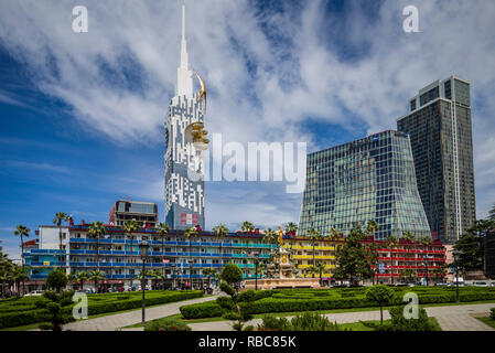 La Géorgie, Batumi, Batumi Tower Photo Stock