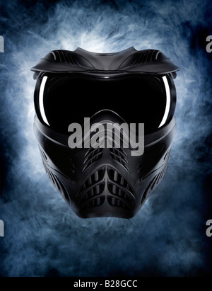 Un masque menaçant Photo Stock
