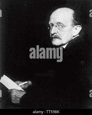 (MAX PLANCK, 1858-1947) Physicien allemand sur 1933 Photo Stock