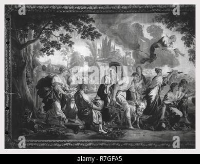Psyché, vénérée comme déesse, engage des Vénus (Aphrodite's) la colère Photo Stock