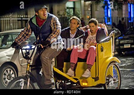La VEILLE DU NOUVEL AN 2011 New Line Cinema production avec Jessica Biehl et Seth Myers Photo Stock