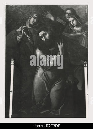 Lazio Roma Rome S. Bernardino, c'est mon l'Italie, l'Italie Pays de l'histoire visuelle, Post-médiévale architecture 1625 17ème siècle, les peintures sur toile, des fresques, mobilier d'église Photo Stock