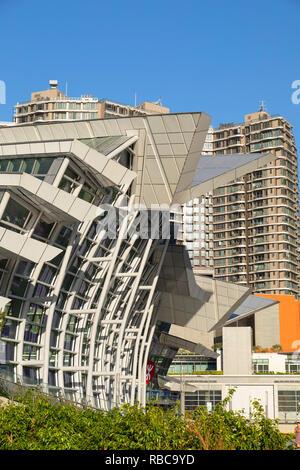 La grande vitesse ferroviaire West Kowloon Station, Kowloon, Hong Kong Photo Stock