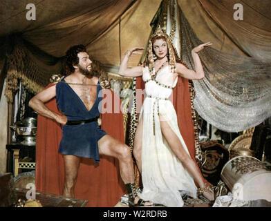 JUPITER'S DARLING 1955 MGM film comédie musicale avec Esther Williams et Howard Keel Photo Stock