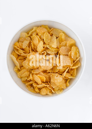Cornflakes tourné avec professional digital format moyen Photo Stock