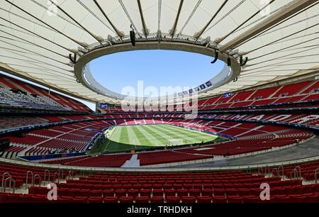 WANDA METROPOLITANO, stade V Tottenham Hotspur FC LIVERPOOL FC, 2019 Photo Stock