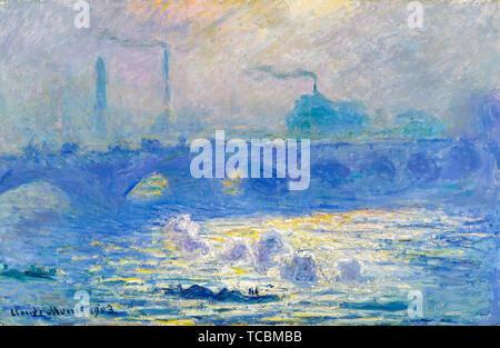 Claude Monet, Waterloo Bridge, peinture, 1903 Photo Stock