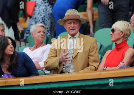 Geoffrey Boycott 2019 Wimbledon Photo Stock