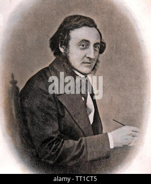 JACOB BELL (1810-1859) et le chimiste anglais MP Photo Stock