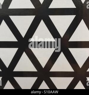 Fond à motifs noir et blanc. Photo Stock