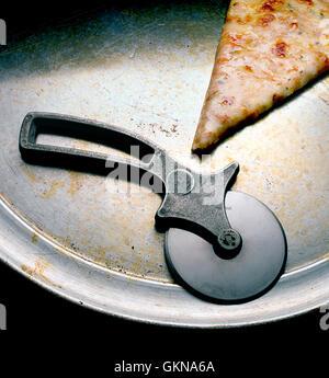 tranche de pizza Photo Stock