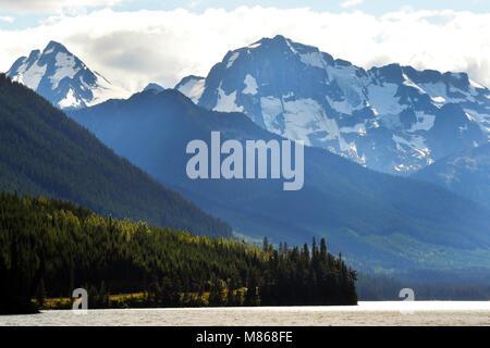 Duffey Lake Provincial Park, Canadian Rockies Photo Stock
