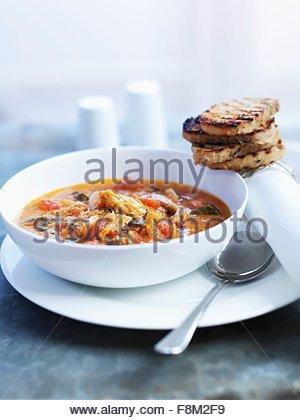 Soupe de légumes du Sri Lanka Photo Stock