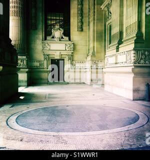 Entrée principale du Grand Palais, Paris, France Photo Stock