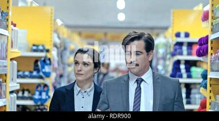 Le homard 2015 4 film/écran Irlande production avec Rachel Weisz et Colin Farrell Photo Stock