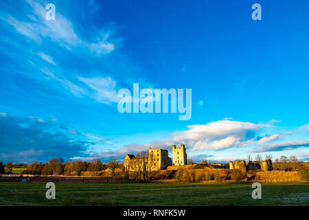 Helmsley Château Normand, Helmsley, North Yorkshire Photo Stock
