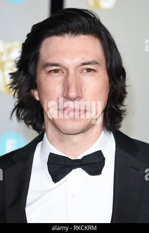 Londres, Royaume-Uni. 10 fév, 2019. Londres, Royaume-Uni. 10 février 2019 : Adam pour l'arrivée du pilote BAFTA Film Awards 2019 au Royal Albert Hall, Londres. Photo : Steve Sav/Featureflash Crédit : Paul Smith/Alamy Live News Photo Stock