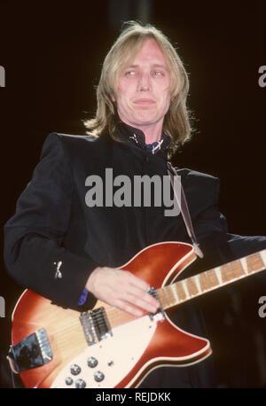 TOM PETTY musicien rock américain en 1985 Photo Stock