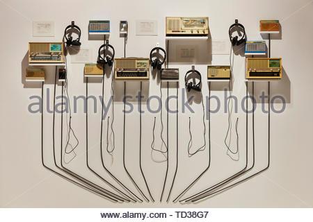 Installation en terre Studios pour la Chine. Design Biennale 2018 de Londres, Londres, Royaume-Uni. Architecte: Divers , 2019. Photo Stock