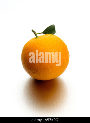 Un ensemble d'orange juteuse Photo Stock
