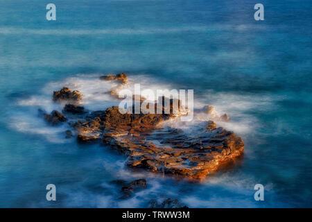 L'île Smaall à Kapalua, Hawaii Photo Stock