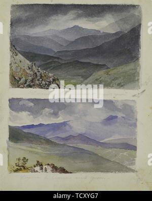 Chemin de Sinano après la tempête, 1835. On trouve dans la Collection de l'État A. Musée des beaux-arts Pouchkine, Moscou. Photo Stock