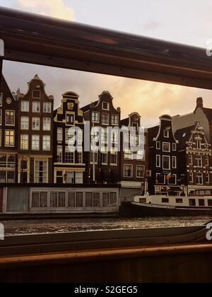 Amsterdam Canal de Photo Stock