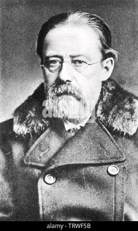 BEDRICH SMETANA (1824-1884) compositeur tchèque de 1883 Photo Stock